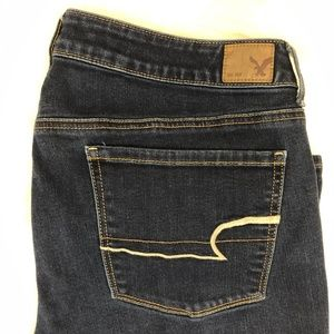 AEO Super Stretch Skinny jeanssize 14 LONG